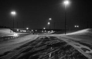 Blizzards like this one in Calgary have won top billing in the news lately, thanks to winter storm Juno and more. Photo by Colby Stopa, via Flickr with Creative Commons License