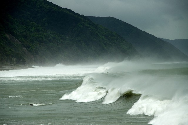Typhoon Soudelor hit Taiwan and China this month. (Photo by Stephen Wheeler via Flickr with Creative Commons.)